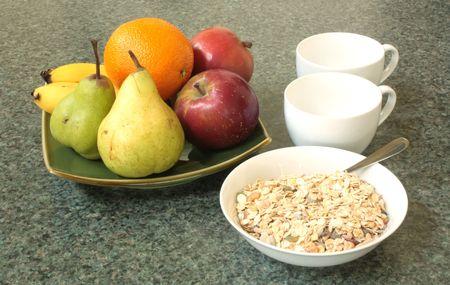 alimentacion balanceada: Dieta equilibrada combinaci�n de un estilo de vida saludable Foto de archivo