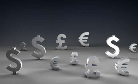 Foreign Exchange on Forex Market World Currencies Stock Photo - 5141492