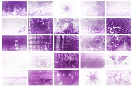 Futuristic Web Cyber Data Grid Color Background Stock Photo - 5156321