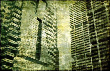 Economic Decline as a Abstract Background Art photo