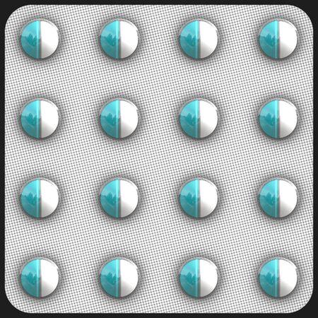 generic drugs: Prescription Drugs Generic In Packaging Clip Art Stock Photo