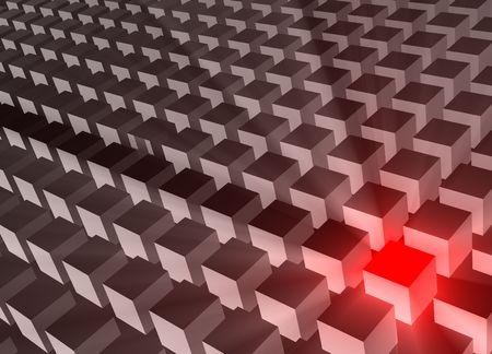 Futuristic Web Cyber Data Grid Color Background Stock Photo - 5186237