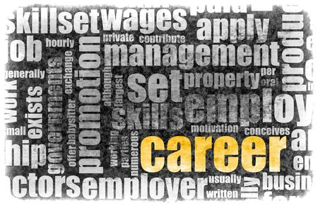 Career Employment of Job in Recruitment Industry Stock Photo - 5209365