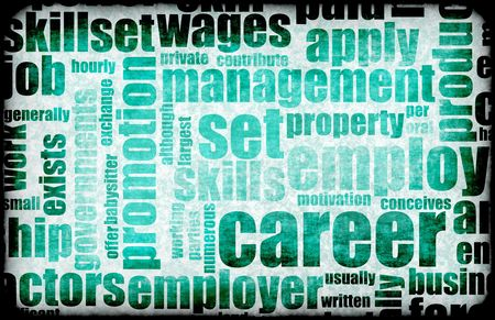 Career Employment of Job in Recruitment Industry Stock Photo - 5221959