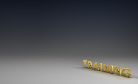 skillset: Training Focus in 3d on Corporate Background