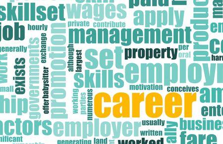 job opening: Carrera Empleo Empleo en la contrataci�n de la Industria Foto de archivo