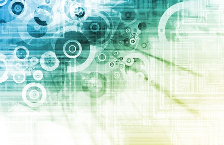 computation: Blue Web Application Software as Art Background Stock Photo