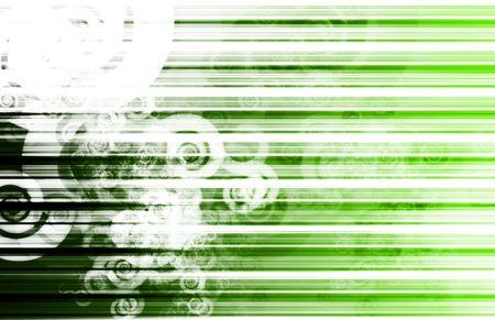 tracking: Green Business Chart Data Tracking Creative Art