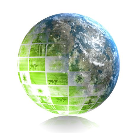 expanding: Green Creative Design Element Corporate Clip Art