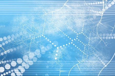 A Technology Industrial Network Abstract Background Wallpaper Stock Photo - 5386306