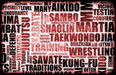 arts abstract: Martial Arts Different Forms of Fighting