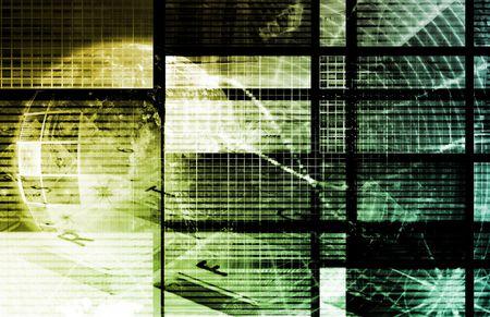 ray trace: Color Digital Dream en el fondo de Internet Foto de archivo