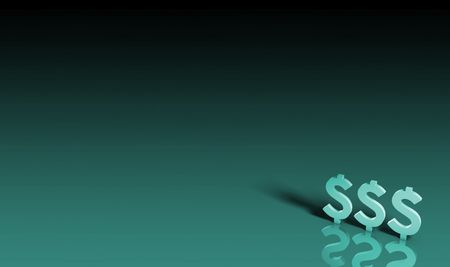 money matters: Personal Finances and Money Issues in 3d Stock Photo