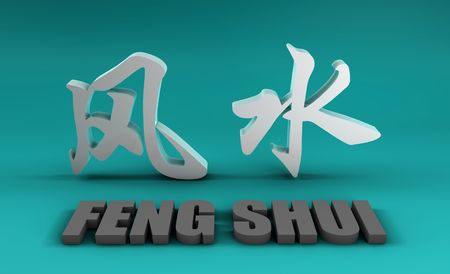 A Feng Shui Auspicious Art Abstract Background photo