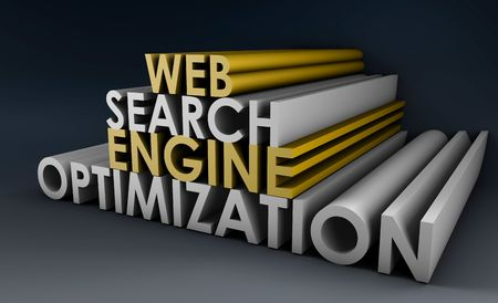 Search Engine Optimization SEO Site Ranking in 3d Stock Photo - 5437038