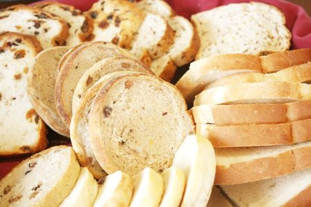 Bread Assorted Variety for a Healthy Breakfast photo