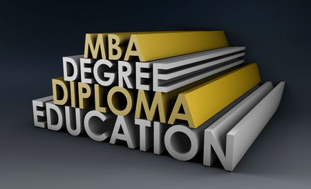 credential: Qualifications in 3d Degree Diploma and MBA