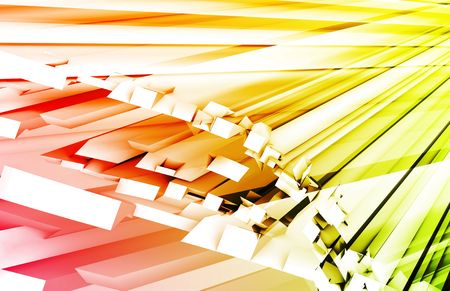 streaking: Green Red Fiber Optics Technology as Concept