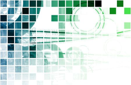 data transfer: Blue Data Network Internet Tech Abstract Art