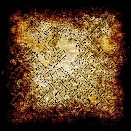 bury: Ancient Adventure Scroll Map with Hidden Treasure