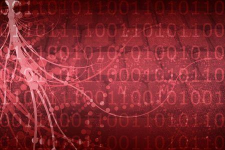 cyber warfare: A Biotech Futuristic Alien Background Pattern Texture Stock Photo