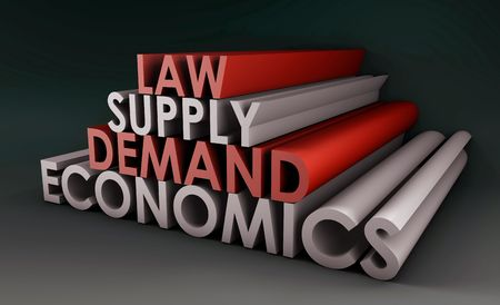 terms: Economics Law of Supply and Demand Background