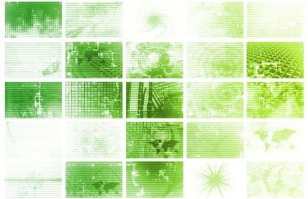 Futuristic Web Cyber Data Grid Color Background Stock Photo - 5670138