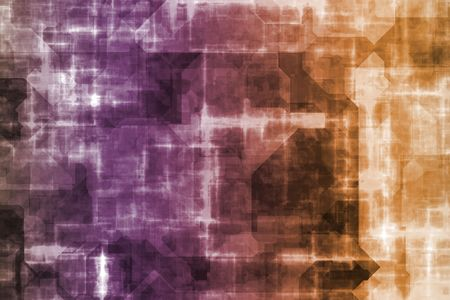 insides: Cyber Business System Data Abstract Background Wallpaper