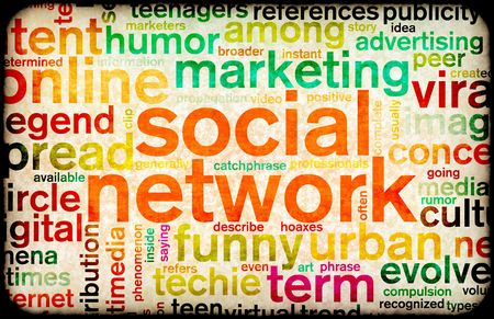 Social Network Site Online Concept For Internet Stock Photo - 5716548