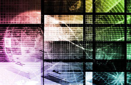 Web Information Technology Art of the Future Stock Photo - 5716561