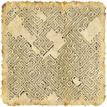 excite: Ancient Adventure Scroll Map with Hidden Treasure