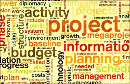 assessment system: Project Planning and Phase as a Background Stock Photo