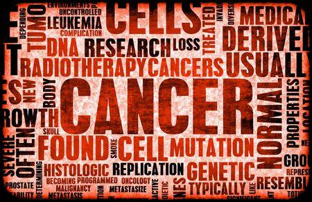 Cancer Medical maladies comme la maladie Concept Art