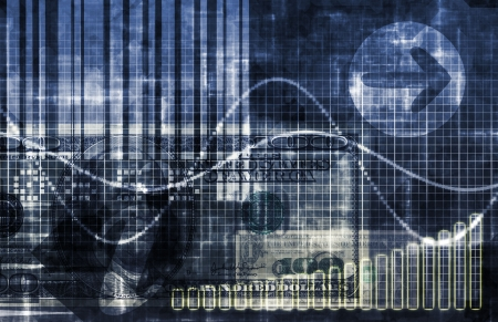spreadsheets: Statistics Data Analysis as a Business Spreadsheet Stock Photo