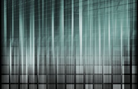 structuring: Tech Science Technology as Backdrop with Lines Stock Photo