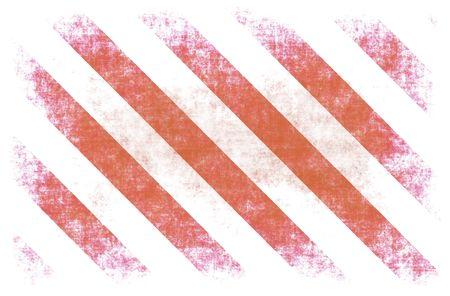 Red White Hazard Stripes as Grunge Background Stock Photo - 5796784