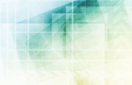 hoja de calculo: Futurista de fondo como un concepto de red de Arte