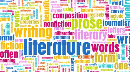 Literature Modern Education Background as a Art Stock Photo - 5811001