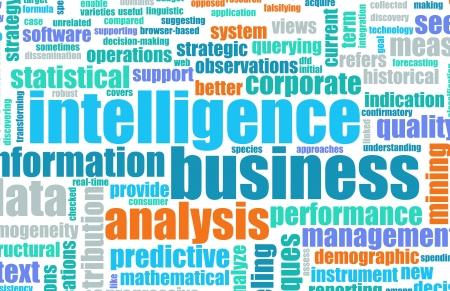 Business Intelligence in Art Entreprise mondiale Banque d'images