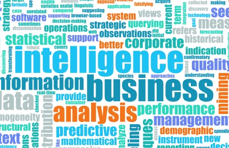Business Intelligence in the Corporate World Art photo