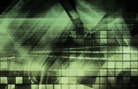 Modern Digital Background as a Creative Art Stock Photo - 5866464