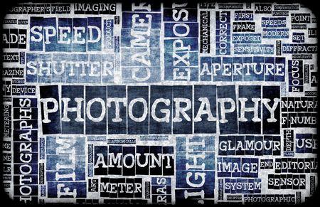 Fotografie achtergrond als een 101 creatieve Abstract