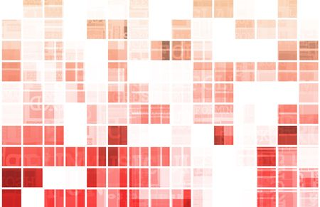 Digital Abstract Data Media As a Art Stock Photo - 5890058
