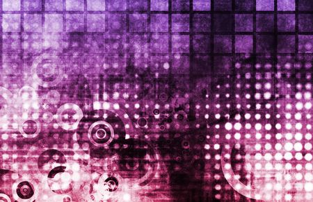 Abstract Grunge Background With Digital Media Art photo