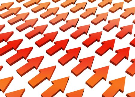 Orange Abstract Growth and Progress Background Concept Wallpaper photo