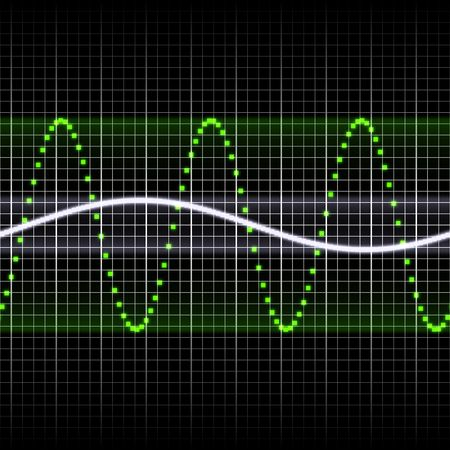 vibrations: Seamless Background of Soundwave Equalizer Music Beats Stock Photo