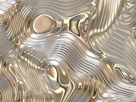liquid metal: Liquid Metal Abstract Background con Ripples Fluid