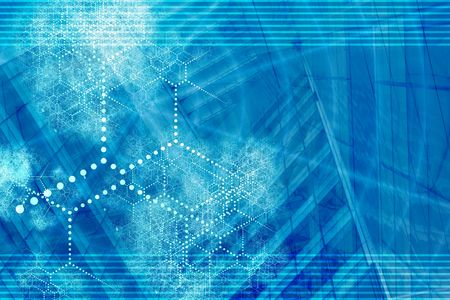 networked: Blue Technology Internet Connected Background Abstract Wallpaper