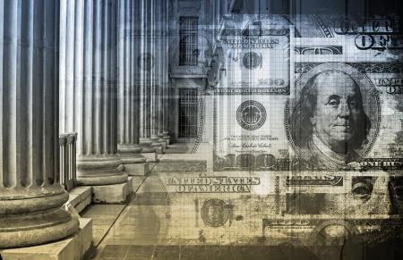 money laundering: Contabilit� e finanza concetto di legge come un art