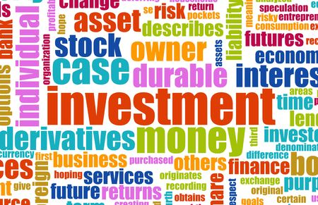 terminology: Investment Plan Terminology Background as a Art